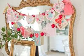 Paper Decorations For Bedrooms Valentine Days Home Decorations For Valentines Day Valentines