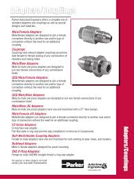 Adapters Couplings Parker Autoclave Engineers