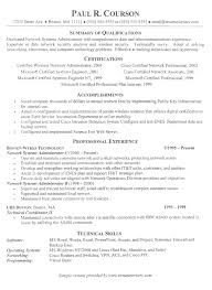 Sample Resume Accomplishments Best Of Information Technology Resume Example Sample It Support Resumes