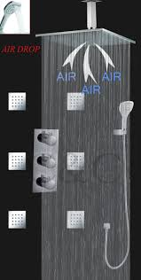 thermostatic brand bathroom: thermostatic bathroom shower faucet set with  in