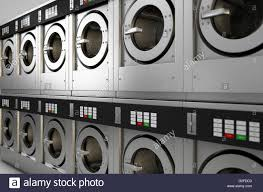 row of washing machines. Simple Row A 3D Render Of A Row Industrial Washing Machines In Public Laundromat   Stock To Row Of Washing Machines