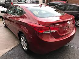 hyundai elantra 2013 red. Beautiful Red 2013 Hyundai Elantra 4dr Sdn Man GLS Available For Sale In Jamaica New  York On Red 3