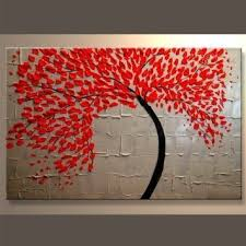 red leaves tree canvas art wall decor magnificent abstract tree paintings phenomenal home decoration hanging top on wall art pieces decorating with wall art best ideas canvas art wall decor cheap canvas prints