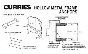 door jamb diagram. Click Here For Hollow Metal Frame Anchors Diagram Door Jamb
