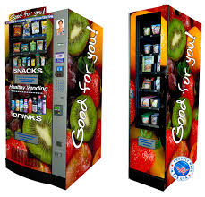 Healthy Snacks Vending Machine Business Delectable Healthy Vending Machine Snacky Matz Allentown PA