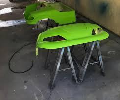 custom paint job golf cart