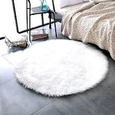 faux fur rug 5x7 super soft faux fur sheepskin rug gy rug round area rugs floor faux fur rug 5x7