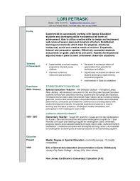 Gallery Of Sample First Grade Teaching Resume Teachers Resume
