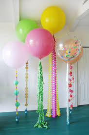 fun balloon tassels More:
