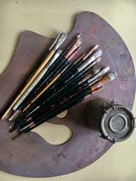 natural bristle brushes i have a few really fine sables squirrel hair and mongoose hair brushes that i use for water color and oil portraits