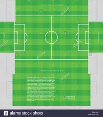 soccer field templates soccer field or football playground tissue box concept template for