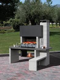 Cuisine Construire Son Barbecue Construire Un Barbecue Facile Barbecue Fixe Contre Un Mur