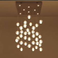 clear glass sphere chandelier eimatco for awesome property glass ball chandelier prepare
