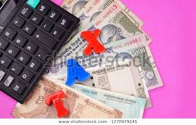Time And Pay Calculator Time Pay Tax Concept Tax Alphabet Stock Photo Edit Now