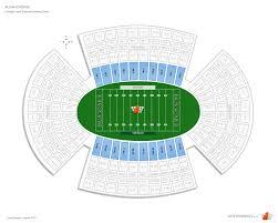 Aloha Stadium Orange Level Sideline Football Seating
