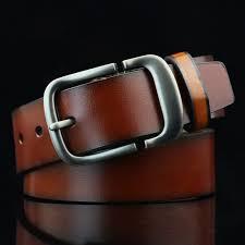 soft leather square buckle belt men s retro belt sku 192505