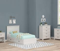 Magnolia White Oak Twin Mates Bedroom Collection | Big Lots