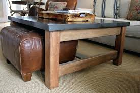 coffee table nesting stools coffee table with footstools underneath coffee table with pull out ottomans ideas