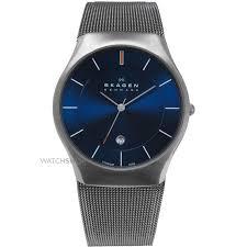 """men s skagen matthies titanium watch 956xlttn watch shop comâ""""¢ mens skagen matthies titanium watch 956xlttn"""