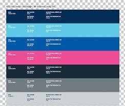 Ral Colour Standard Blue Color Chart Pantone Paint Png