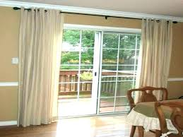 door curtain ideas garage curtains rods medium size of glass rod sliding front door curtain