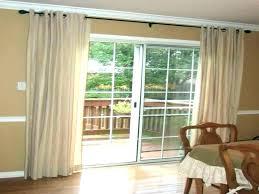 door curtain ideas garage curtains rods medium size of glass rod sliding front door curtain