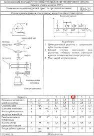 Детали машин курсовой проект МАМИ на заказ от автора техническое задание на курсовой проект по ДМ