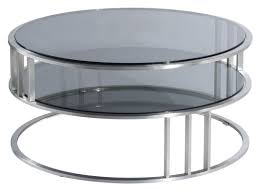 top 65 superb furniture contemporary modern round coffee table with glass top and storage plus metal