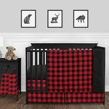 baby boy nursery crib bedding set