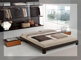 Bedroom Sunken Platform Bed Frame Bed Frame With Headboard