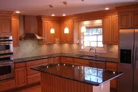 image kitchen design lighting ideas. Wood Based Small Kitchen Design With Ceiling Lighting And Pendant Image Ideas I