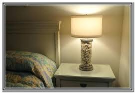 glass table lamp base fillable lamps uk