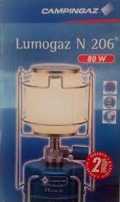 Lampara Campingaz Lumo N206 80w Con Sus Repuestos