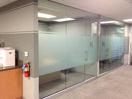 sliding office window. Amazing Office Privacy Frost Band Select Window Films Inc Decorating Interior Sliding Window: H