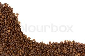 coffee beans border. Contemporary Beans In Coffee Beans Border Colourbox