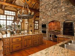 Rustic Kitchen Rustic Kitchen With Wine Refrigerator Cathedral Ceiling Zillow