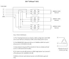 3 phase heating with single phase gfci 240 Volt Gfci Breaker Diagram 3 phase gfci jpg 240 volt gfci breaker wiring diagram
