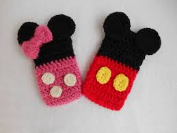 Mickey Mouse Crochet Pattern Free Simple Inspiration Design