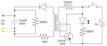 electric fly swatter zapper racket as high voltage source mosquito zapper circuit at Bug Zapper Wiring Diagram