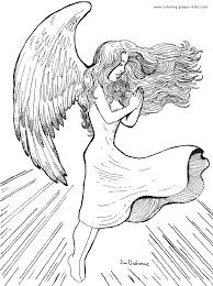 Angel Coloring Pages For Adults Fresh 18cute Angel Coloring Pages