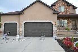 paint garage doorCan You Paint A Garage Door I51 About Fancy Small Home Decor