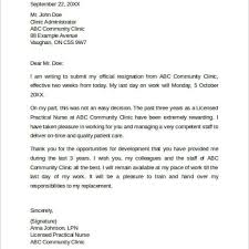 Two Weeks Notice Letter Format Image collections - Letter Samples ...
