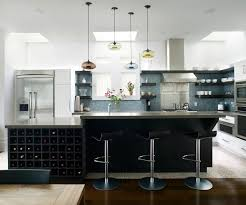 kitchen design idea open shelving 19 photos dark wood shelves in