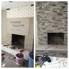 top 30 marvelous refacing brick fireplace ingenuity fireplaces fireplaces i refaced this old brick fireplace on