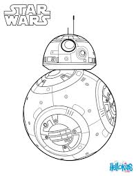Small Picture BB 8 The Force Awakens coloring page Star Wars Party