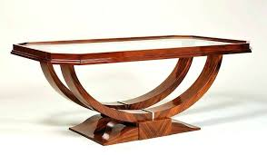brilliant art coffee table style design for at deco blue glass