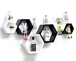 hexagonal wall shelf hexagon black hexagonal wall shelf