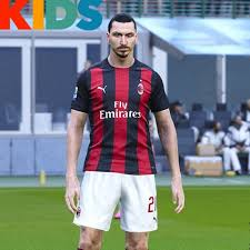 The home, away, and third dls 19 kits can be imported in a simple the fly emirates is once again the main sponsor of associazione calcio milan. Ac Milan 20 21 Home Leaked Kids Kit Shirt Short 16033