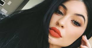 kylie jenner takes a break from her makeup routine to share bare faced selfie mirror