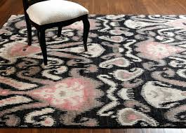 gray ikat area rug designs